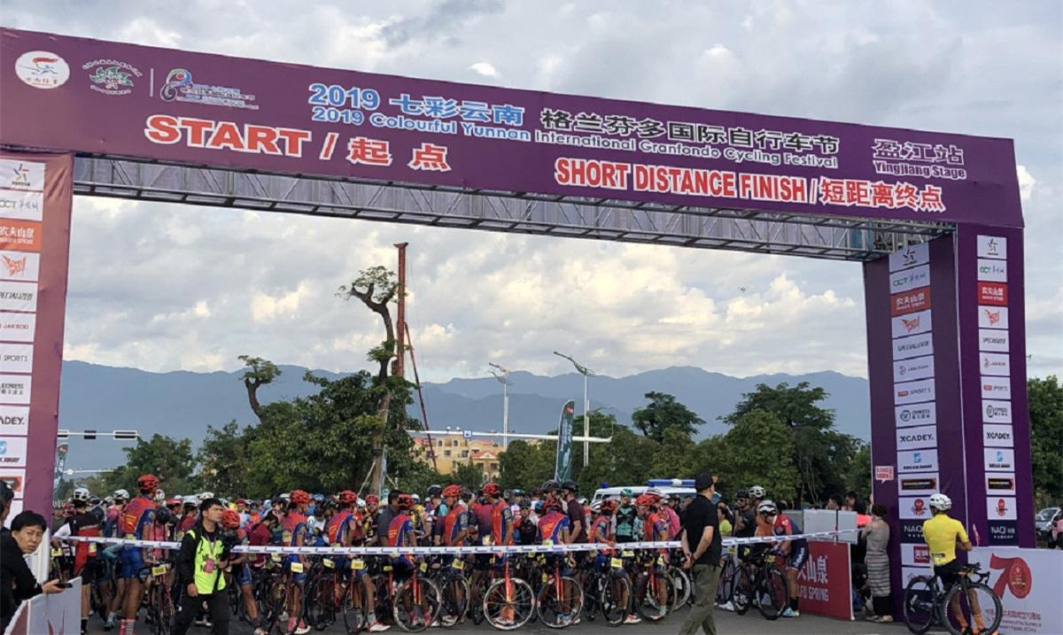 Granfondo cycling race